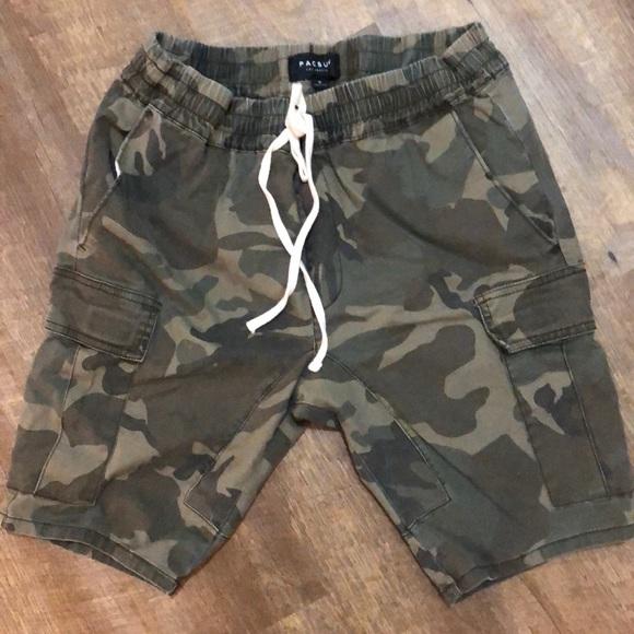 0f8e21043a PacSun Shorts | Camo | Poshmark